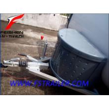 High quality camping caravan tear drop trailer