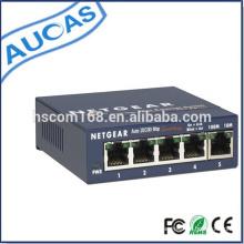 Conversor de mídia de fibra óptica / mídia de fibra óptica interruptor de rede / comutador de rede