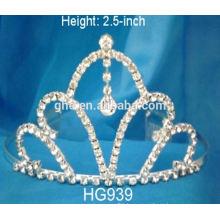 plastic princess tiaras small princess crown rhinestone pageant tiara headpiece bridal tiaras and crown