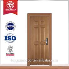 Porte d'entrée porte en bois apprêté style porte américaine