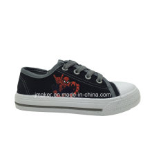 Spide Man Impressão Crianças Canvas Sneaker (X171-S & B)