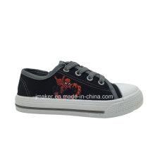 Spide Человек Печать Детям Холст Sneaker (X171-З&Б)