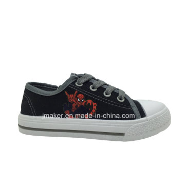 Spide Man Printing Children Canvas Sneaker (X171-S&B)