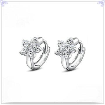 Кристалл серьги Серебряные ювелирные изделия 925 серебро ювелирные изделия (SE036)