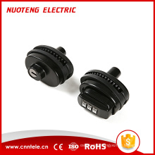 Serrure à combinaison de sécurité en acier noir et zinc CG05, serrure à numéro