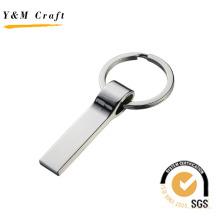 Keychain promotionnel de matériel d'alliage de zinc de haute qualité de logo fait sur commande (Y04255)