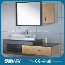 Mueble de tocador estropeado Mueble de baño de acero inoxidable China