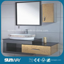 Irrored Vanity Furniture Stainless Steel China Bathroom Cabinet