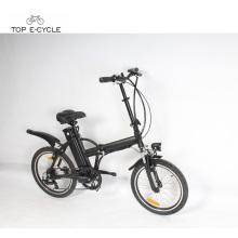 F2 vintage fabricação chinesa dobrável bicicleta do motor elétrico / bicicleta scooter elétrico