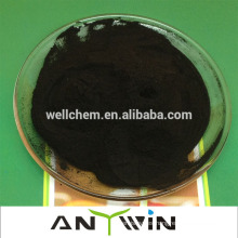 Fábrica produce directamente polvo de escamas negro de alta calidad 100% hidratado soluble en agua