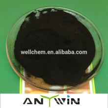 Фабрика непосредственно производит высококачественный порошок черной чешуйки 100% водорастворимый гумат калия