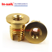Buttom-Flanged Threaded Insert Nuts with Screw Outside