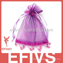 High quality wedding organza bags with tags