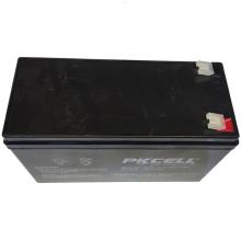 PKCELL Blei-Säure-Batterie 12V 7Ah 12V Bleisäure Autobatterie Blei-Säure-Batterie SLA