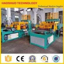 Máquina formadora de aletas acanaladas, equipos para transformadores