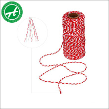 polypropylene packing twine hemp twine cotton bakers twine for packing,crafts,gift wrapping