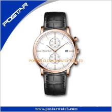 Reloj de pulsera impermeables Movt de cuarzo importado de Japón