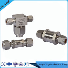 Best-selling SS high Pressure valve check