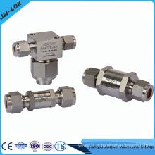 Válvula de retenção de alta pressão para ar comprimido fabricada na China