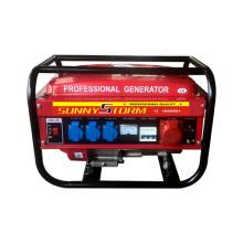 2kw / 2.5kw trifásico gasolina geradores conjunto