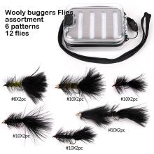 Nouveau Design Wooly Buggers Fly Mouches de pêche