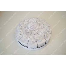 Birthday cake shape wedding box design