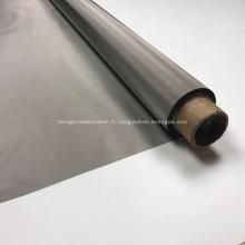 Écran de filtre en tissu métallique noir