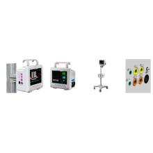 Nueva llegada 8 pulgadas portátil Multi-Parameter monitor paciente PT-601d