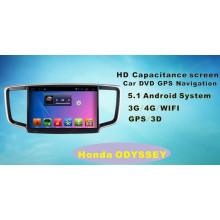 Navegación GPS del coche del sistema del androide para Honda Odisea 10.1inch con Bluetooth / TV / WiFi / USB / MP4