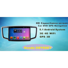 Android System Auto DVD GPS Navigation für Honda Odyssey 10.1inch mit Bluetooth / TV / WiFi / USB / MP4
