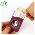 High-end Printed 3M Silicone Phone Card Holder Wallet