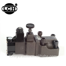 Alibaba China supplier yuken BS series low pressure noise solenoid pilot operated relief valve