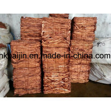 Ferraille de fil de cuivre / Débris de cuivre et de myrtille 99,9%