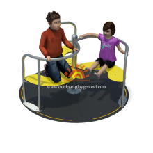 Plate-forme debout Merry Go Structure ronde