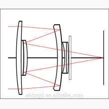 A lente de espelho óptico levou a lente de luz de rua