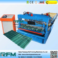 Glazed tile steel roofing forming machine