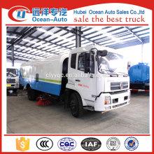 Dongfeng Kinrun road making truck para la venta, camión de la barredora del camino del vacío para la venta