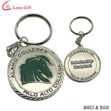 Metal School Anniversary Metal Key Chain Custom (LM1654)