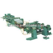 Línea de la máquina del corte a la longitud para el acero de carbón / acero galvanizado