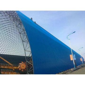 Gitterstruktur Stahlrahmenstruktur Raumrahmensystem Kohlenspeicherhalle