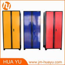 """Gabinete de almacenamiento de metal clásico de acero soldado con 4 estantes ajustables y puertas abatibles de bloqueo (72 """"de altura x 36"""" de ancho x 18 """"de profundidad)"""