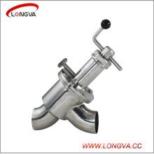 Stainless Steel Sanitary Y Type Globe Valve