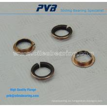 Brida Soporte de bronce libre de mantenimiento sin material de apoyo