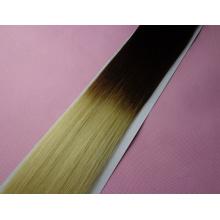 Extension de cheveux de bande de kératine d'ombre