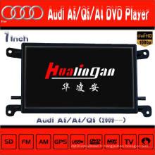 Windows Ce pour Audi Q5 / A5 / A4 Navigation DVD avec Tmc avec DVD-T avec Pip