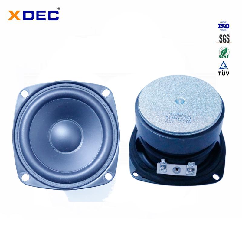 78mm 4ohm 15w midbass speaker driver