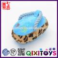 Горячая продажа интерактивных жевать хлопок веревка плюшевые тапочки собака игрушки