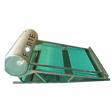 Wärmerohr-Sonnenkollektor mit Kurvenverteiler