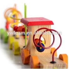 Art esprit vente chaude enfants jouet train en bois