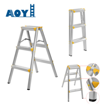 Aluminum folding stool ladder
